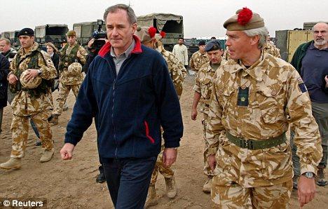 geoff hoon iraq