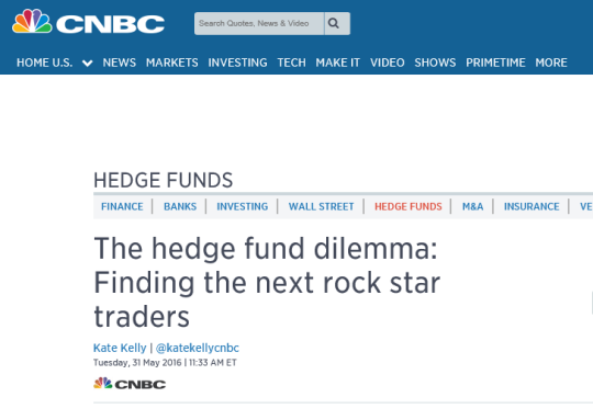cnbc hedge fund recruitment
